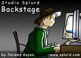 Studio Splurd Backstage